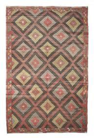 Kilim Pół -Antyk Tureckie Dywan 196X307 Orientalny Tkany Ręcznie Jasnobrązowy/Brązowy (Wełna, Turcja)
