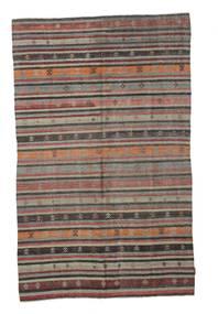 Kelim Semiantiikki Turkki Matto 172X272 Itämainen Käsinkudottu Vaaleanruskea/Tummanharmaa (Villa, Turkki)