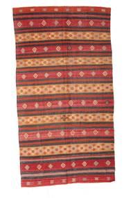 Kilim Semiantigua Turquía Alfombra 174X330 Oriental Tejida A Mano Rojo Oscuro/Marrón (Lana, Turquía)