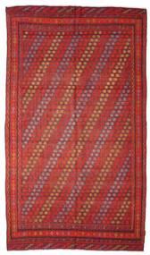 Kelim Semiantiikki Turkki Matto 181X312 Itämainen Käsinkudottu Tummanpunainen/Ruskea (Villa, Turkki)