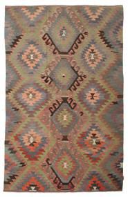 Kilim semi antique Turkish carpet XCGZK306