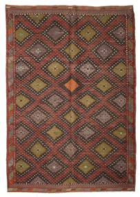 Kilim semi antique Turkish rug XCGZK299
