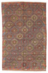 Kilim Semi Antique Turkish Rug 186X295 Authentic  Oriental Handwoven Light Brown/Brown (Wool, Turkey)