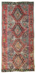 Kilim semi antique Turkish carpet XCGZK287
