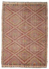 Kilim semi antique Turkish carpet XCGZK285