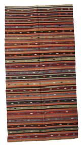 Kilim semi antique Turkish carpet XCGZK272
