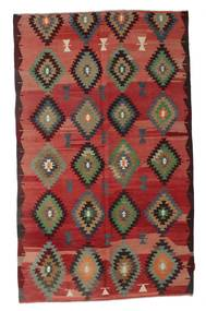 Kilim semi antique Turkish carpet XCGZK271