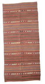 Kilim Semi Antique Turkish Rug 162X355 Authentic  Oriental Handwoven Light Brown/Purple (Wool, Turkey)