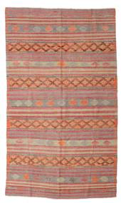 Kilim Semi Antique Turkish Rug 173X297 Authentic  Oriental Handwoven Light Brown/Brown (Wool, Turkey)