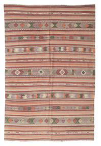 Tapis Kilim semi-antique Turquie XCGZK254