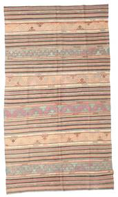 Kelim Semiantik Turkisk Matta 170X296 Äkta Orientalisk Handvävd Ljusbrun/Ljusrosa (Ull, Turkiet)