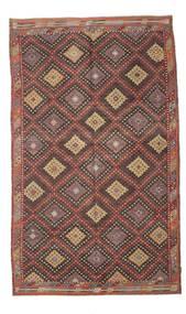 Kilim Semi-Antichi Turchi Tappeto 191X314 Orientale Tessuto A Mano Marrone Chiaro/Marrone/Grigio Scuro (Lana, Turchia)