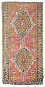 Kilim semi antique Turkish carpet XCGZK228