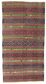 Kilim Pół -Antyk Tureckie Dywan 180X345 Orientalny Tkany Ręcznie Ciemnoszary/Jasnoszary (Wełna, Turcja)
