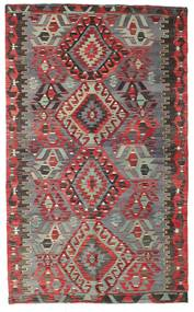 Kelim Semiantiikki Turkki Matto 178X296 Itämainen Käsinkudottu Ruskea/Tummanruskea (Villa, Turkki)