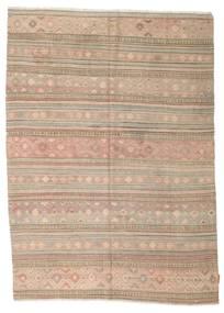 Kilim semi antique Turkish carpet XCGZK881