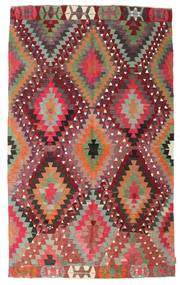 Kilim semi antique Turkish carpet XCGZK872