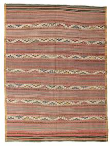 Kilim semi antique Turkish carpet XCGZK870