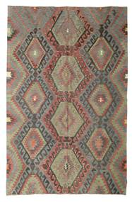 Kilim Semi Antique Turkish Rug 192X297 Authentic  Oriental Handwoven Light Brown/Dark Grey (Wool, Turkey)