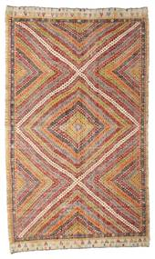 Kilim semi antique Turkish rug XCGZK862
