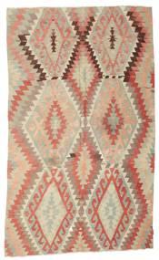 Kilim Semi Antique Turkish Rug 184X307 Authentic  Oriental Handwoven Light Brown/Dark Beige (Wool, Turkey)