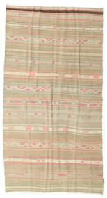 Kilim semi antique Turkish rug XCGZK854