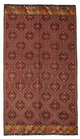 Kilim Semi Antique Turkish Rug 172X301 Authentic  Oriental Handwoven Dark Red/Dark Brown (Wool, Turkey)