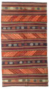 Kilim Semi Antique Turkish Rug 175X318 Authentic  Oriental Handwoven Brown/Dark Red (Wool, Turkey)