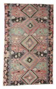 Kilim Semi Antique Turkish Rug 180X290 Authentic  Oriental Handwoven Light Grey/Dark Grey (Wool, Turkey)