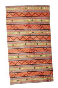 Kilim Semi Antique Turkish Rug 187X337 Authentic  Oriental Handwoven Orange/Light Brown (Wool, Turkey)
