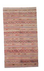 Kilim Semi Antique Turkish Rug 165X290 Authentic  Oriental Handwoven Light Brown/Rust Red (Wool, Turkey)