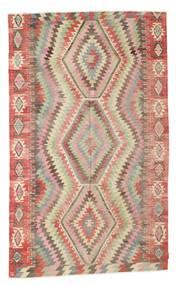 Kelim Halbantik Türkei Teppich  176X290 Echter Orientalischer Handgewebter Hellrosa/Braun (Wolle, Türkei)