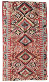 Kilim Semi Antique Turkish Rug 177X311 Authentic  Oriental Handwoven Dark Red/Light Grey (Wool, Turkey)