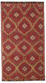 Kilim Semi Antique Turkish Rug 175X318 Authentic  Oriental Handwoven Dark Red/Dark Brown (Wool, Turkey)