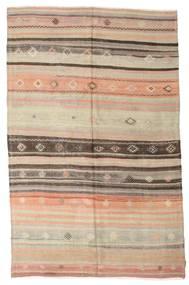 Kilim semi antique Turkish rug XCGZK801