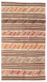 Kilim Semi Antique Turkish Rug 163X290 Authentic  Oriental Handwoven Light Brown/Brown/Light Pink (Wool, Turkey)