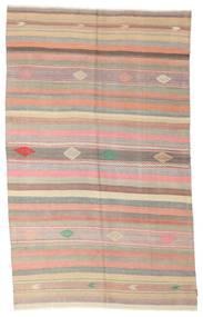 Kilim Félantik Törökország Szőnyeg 178X292 Keleti Kézi Szövésű Világosbarna/Világos Rózsaszín (Gyapjú, Törökország)