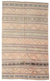 Kilim Semi Antique Turkish Rug 195X316 Authentic  Oriental Handwoven Light Brown/Light Grey (Wool, Turkey)