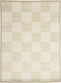 Himalaya Rug 141X194 Authentic  Modern Handknotted Dark Beige/Beige ( India)