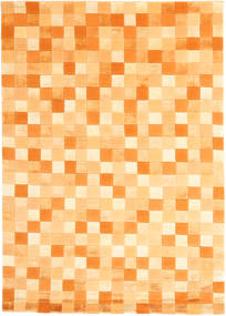 Himalaya Rug 140X200 Authentic  Modern Handknotted Orange/Dark Beige ( India)
