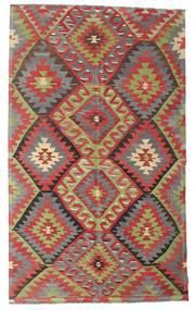 Kilim Semi Antique Turkish Rug 176X292 Authentic Oriental Handwoven Brown/Dark Red (Wool, Turkey)