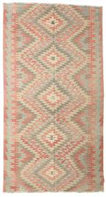 Kilim Semi Antique Turkish Rug 173X320 Authentic  Oriental Handwoven Light Pink/Light Grey (Wool, Turkey)
