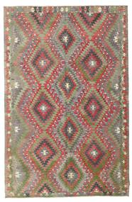 Kilim Semi Antique Turkish Rug 185X283 Authentic  Oriental Handwoven Light Brown/Brown (Wool, Turkey)