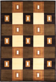 Himalaya Rug 165X240 Authentic  Modern Handknotted Dark Brown/Brown ( India)