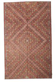 Kilim Semi Antique Turkish Rug 180X292 Authentic  Oriental Handwoven Brown/Light Brown (Wool, Turkey)