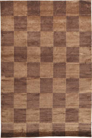 Himalaya Rug 168X250 Authentic  Modern Handknotted Brown/Light Brown ( India)