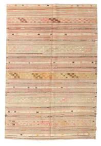 Kilim semi antique Turkish carpet XCGZK498