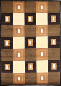 Himalaya Rug 169X237 Authentic  Modern Handknotted Brown/Black ( India)
