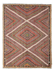 Kilim semi antique Turkish rug XCGZK489