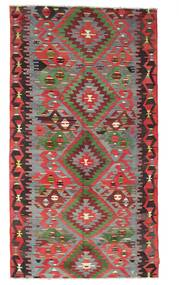 Kilim Semi Antique Turkish Rug 167X307 Authentic  Oriental Handwoven Brown/Dark Brown (Wool, Turkey)